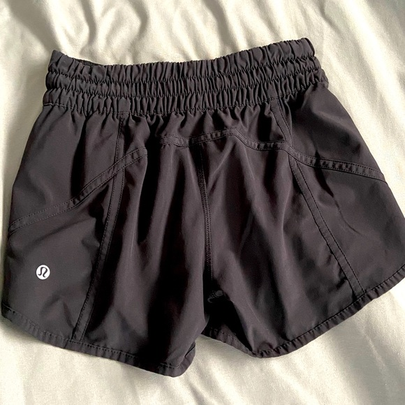 Lululemon Tracker shorts.